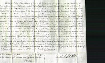 Court of Common Pleas - Elizabeth Ward-Original Ancestry