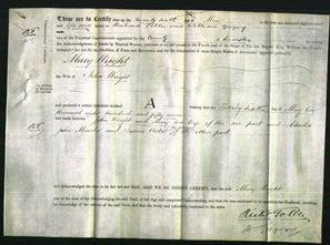 Deed by Married Women - Mary Wright-Original Ancestry