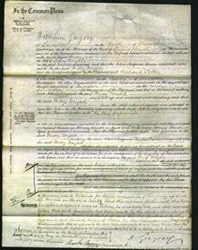 Court of Common Pleas - Mary Wright-Original Ancestry