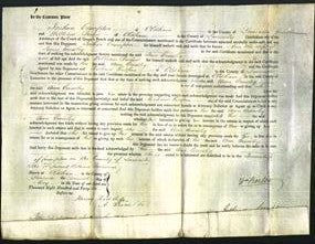 Court of Common Pleas - Ann Crossley-Original Ancestry