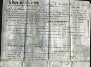 Deed by Married Women - Elizabeth Marcy #4-Original Ancestry