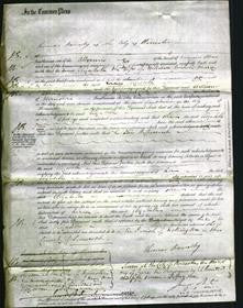 Court of Common Pleas - Elizabeth Marcy #3-Original Ancestry
