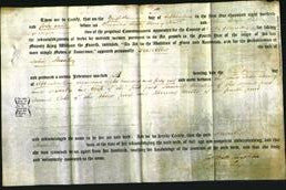 Deed by Married Women - Priscilla Stanley-Original Ancestry
