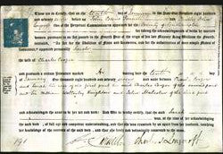 Deed by Married Women - Sarah Cooper-Original Ancestry