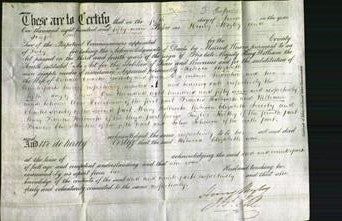 Deed by Married Women - Rebecca Elizabeth Soresby-Original Ancestry