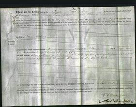 Deed by Married Women - Louisa Watkins-Original Ancestry