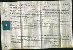 Deed by Married Women - Hannah Martha Grange and Mary Cook-Original Ancestry