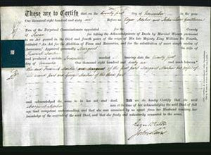 Deed by Married Women - Margaret Martin-Original Ancestry