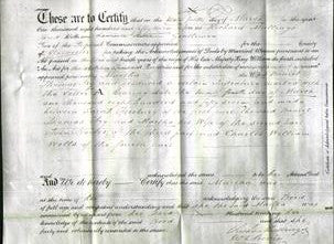 Deed by Married Women - Martha Fry-Original Ancestry