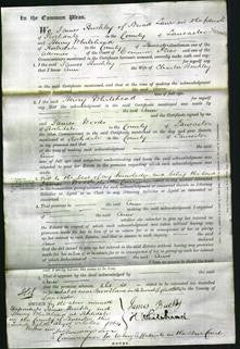 Court of Common Pleas - Ann Buchley-Original Ancestry