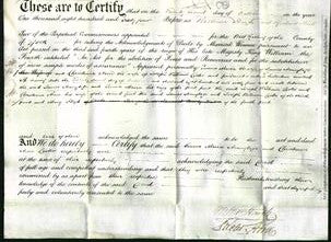 Deed by Married Women - Emma Maria Armytage and Christiana Ann Lister-Original Ancestry