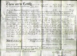 Deed by Married Women - Mary Richards-Original Ancestry