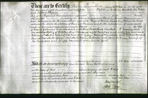 Deed by Married Women - Jane Coltman-Original Ancestry
