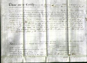 Deed by Married Women - Ann Mitchell-Original Ancestry
