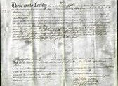 Deed by Married Women - Caroline Howe Cox, Penelope Frances Perkins-Original Ancestry