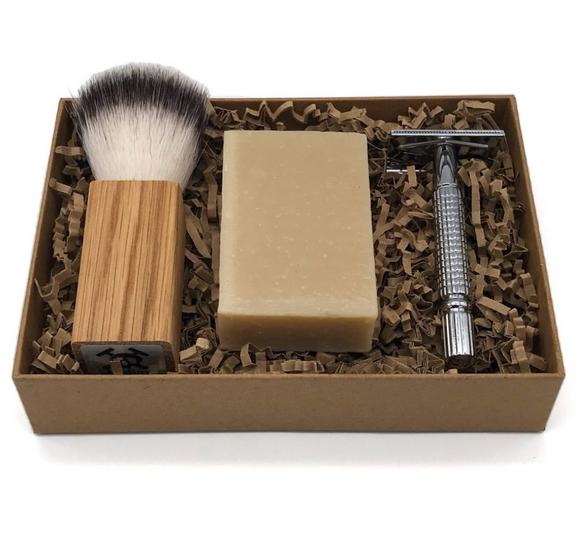 Mutiny Shaving Kit (Rose Gold) - Orange & Lavender