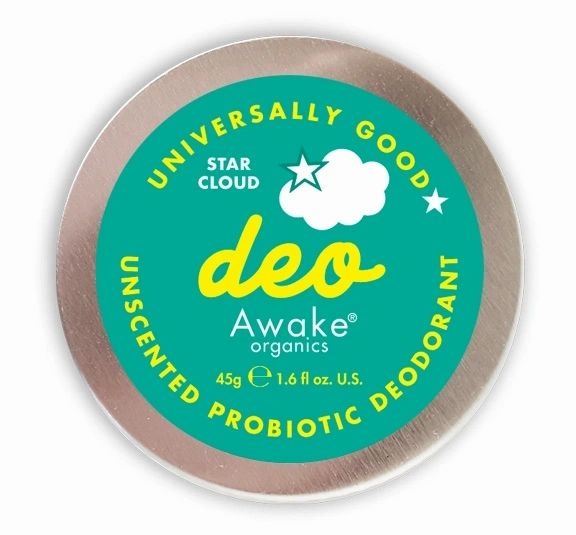 Star Cloud Unscented Probiotic Deodorant by Awake Organics