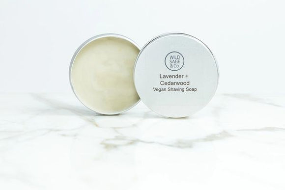 Wild Sage & Co Shaving Soap