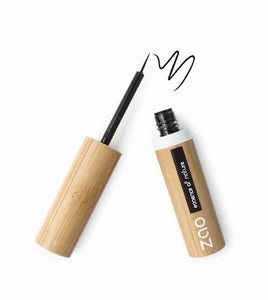 Zao Refillable Liquid Eyeliner - 070 Intense Black