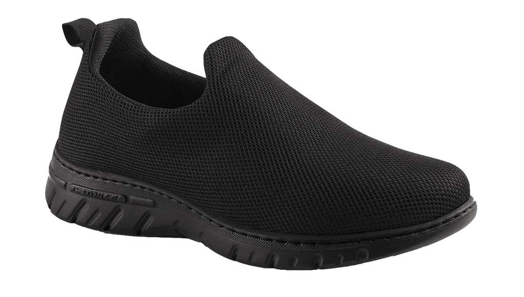 CANDY BLACK SLIP ON WATERPROOF MESH SHOES