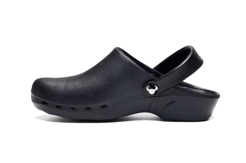 ODEN Black Clogs