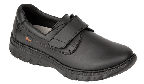 FLORENCIA Microfibre Work Shoe with Velcro Closure