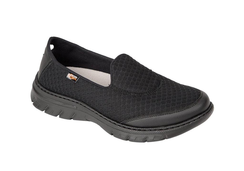 Valencia moccasin style mesh professional shoe
