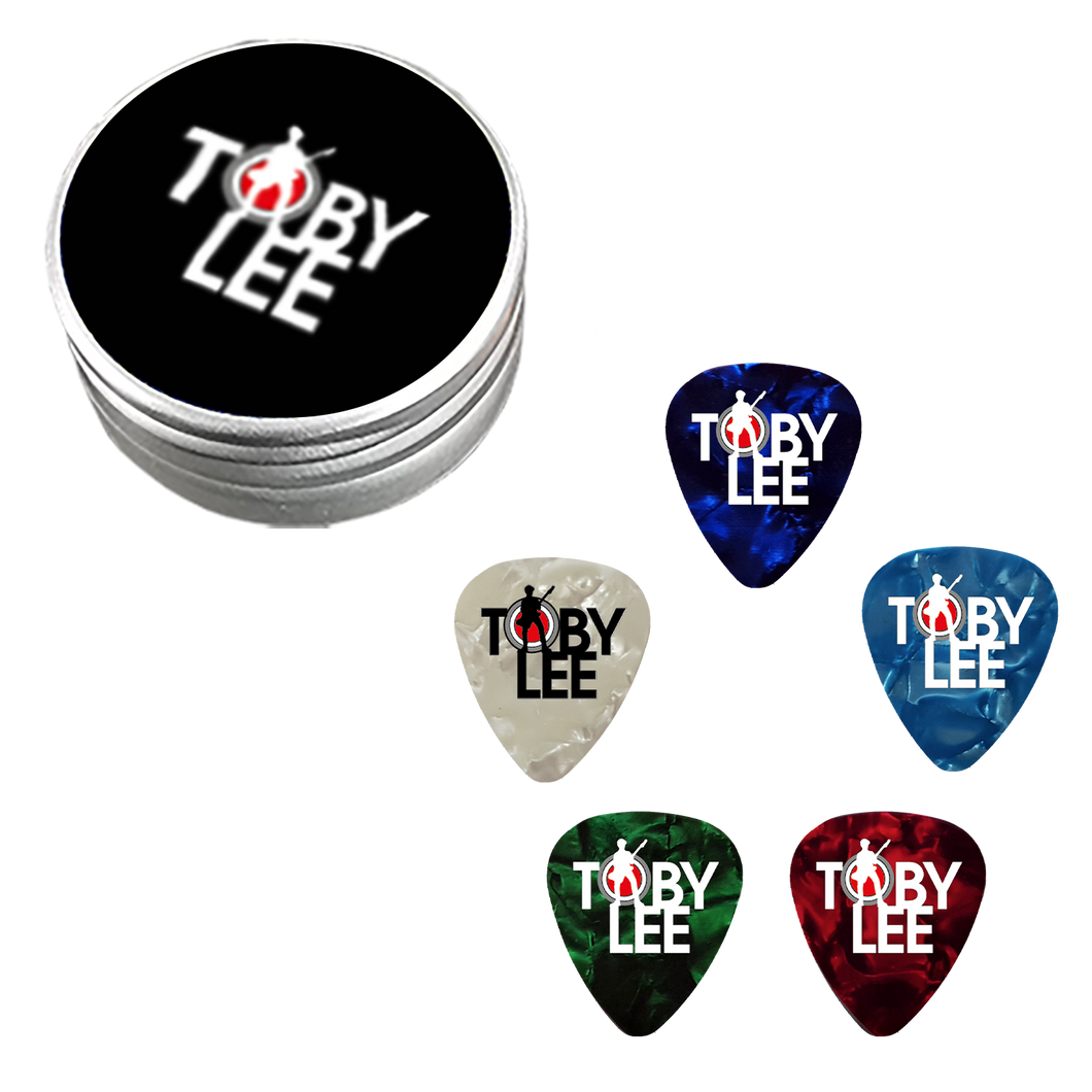 Guitar Picks - Tin [PREORDER] | Toby Lee Official Store