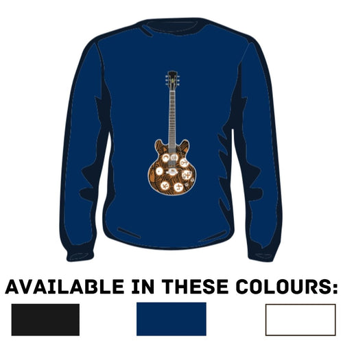Aquarius Guitar Sweatshirt [PREORDER] | Toby Lee Official Store