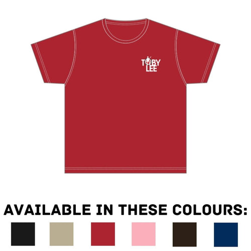 Toby Lee Logo T-Shirt [PREORDER] | Toby Lee Official Store