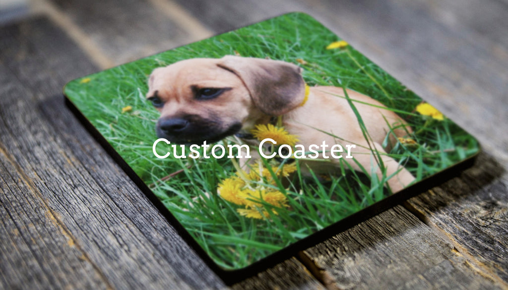 Custom Wooden Coaster