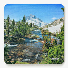 Crossings Pacific Crest Trail Wooden Coaster Hike the Good Hike Simply Grateful