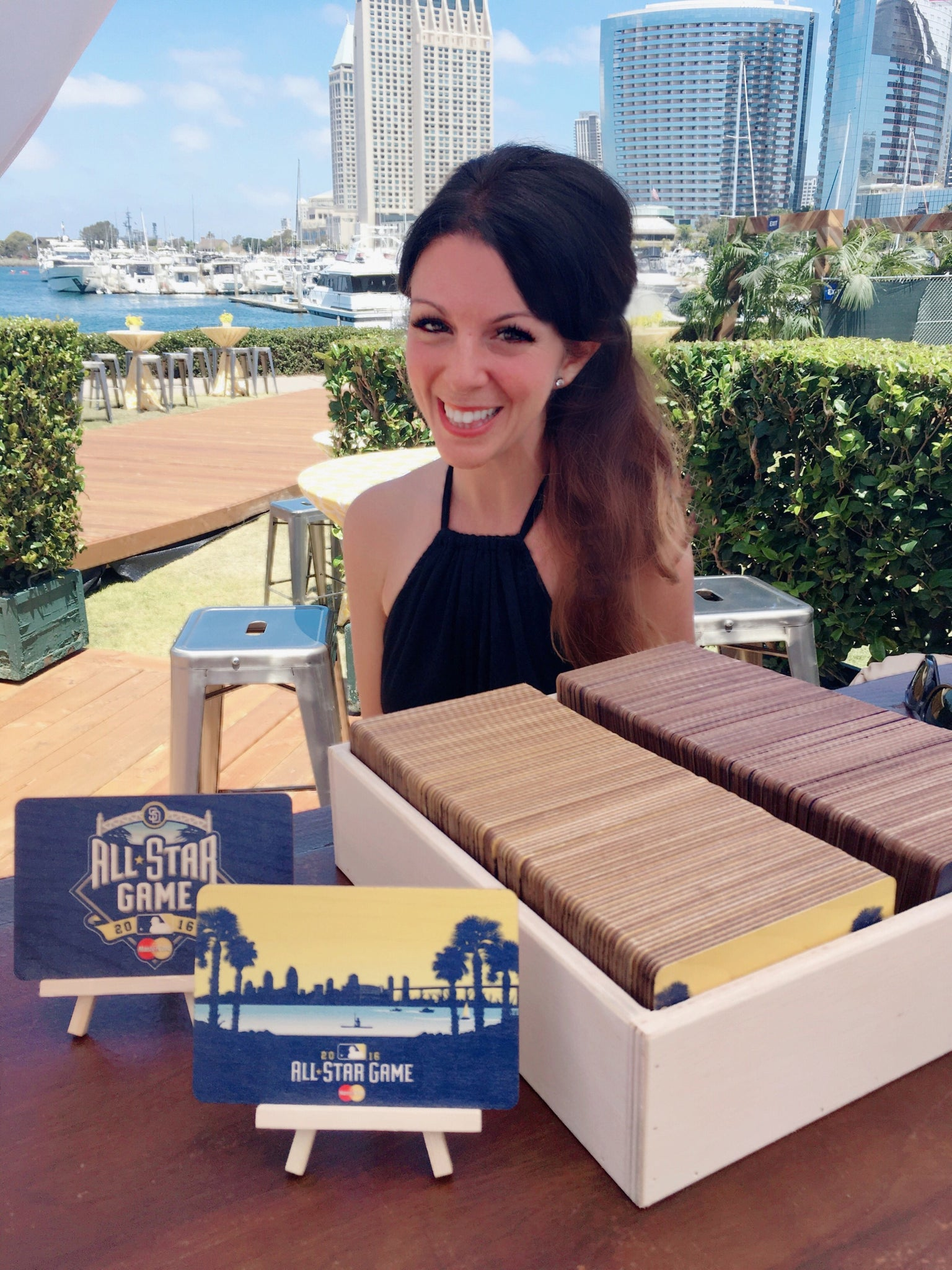 MLB All-Star Game 2016 Simply Grateful Postcards Missy Patterson