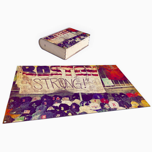 B Strong 500 Piece Puzzle