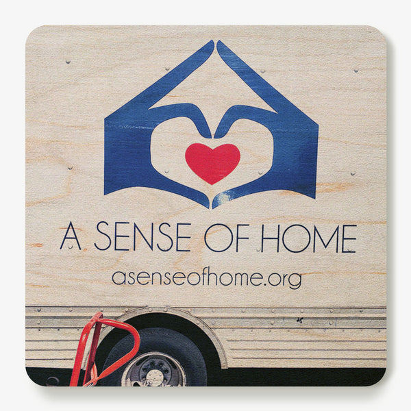 A Sense of Home Coaster