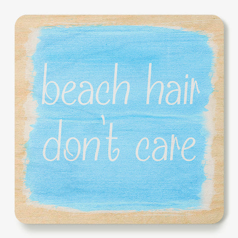 Beach Hair Coaster