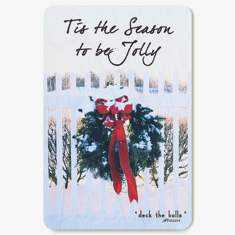 Deck The Halls Postcard