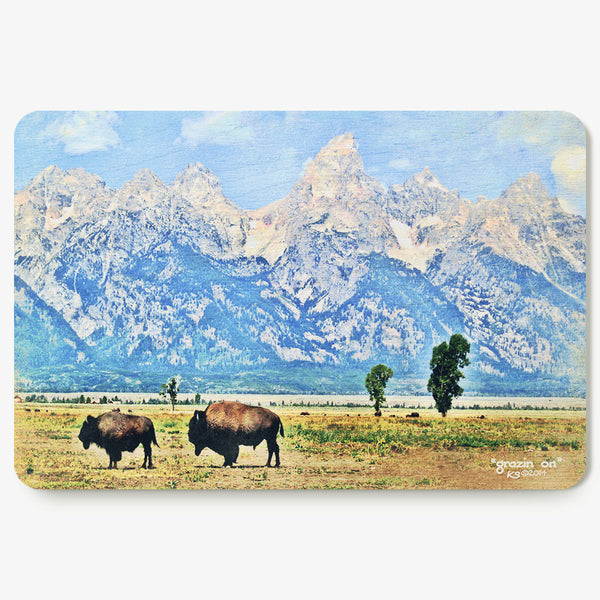 Grazing On Postcard