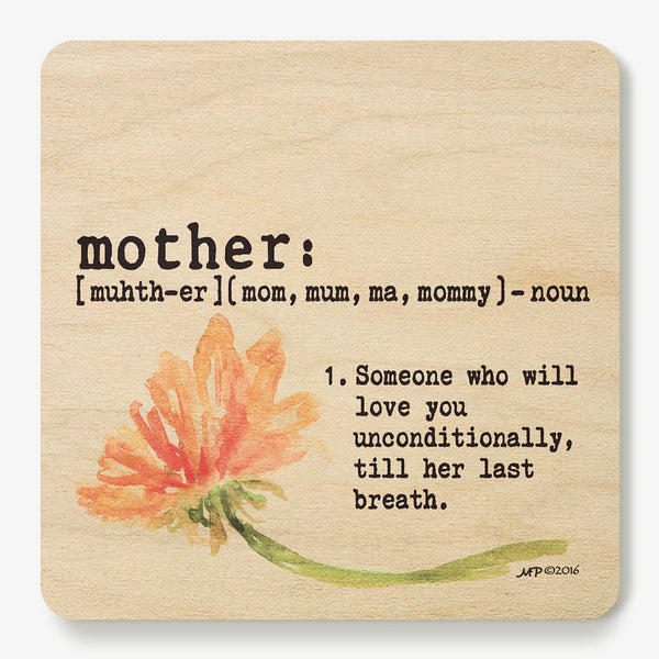 Mother ~ Definition Coaster