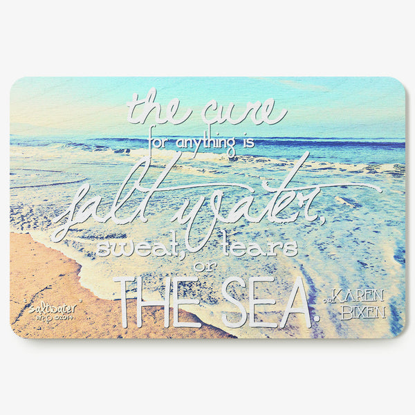 Salt Water Postcard
