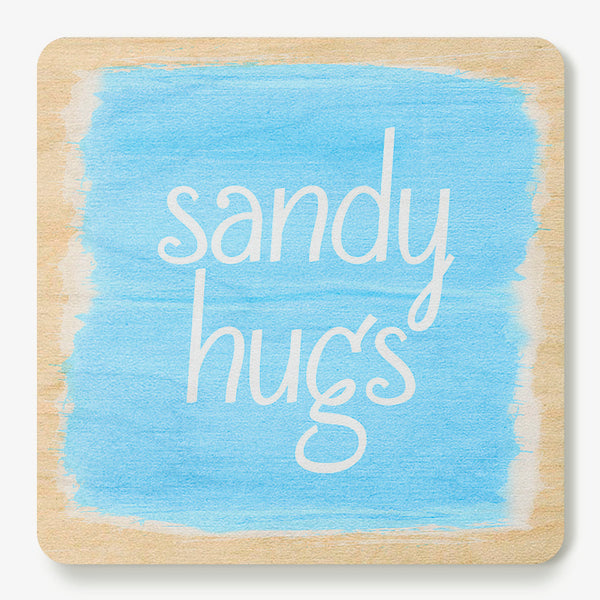 Sandy Hugs Coaster