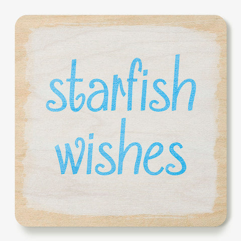 Starfish Wishes Coaster