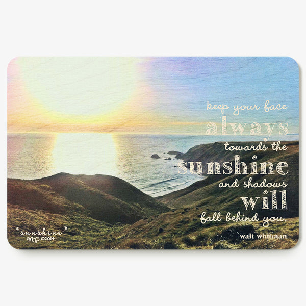 Sunshine Postcard