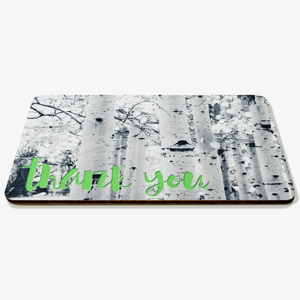 Thank You ~ Trees Postcard