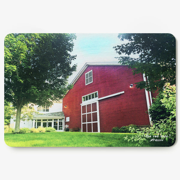 The Red Barn Postcard