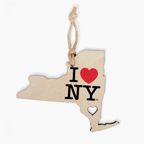 Heart ~ NY Ornament