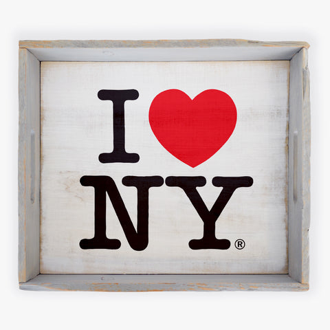Heart ~ NY Serving Tray