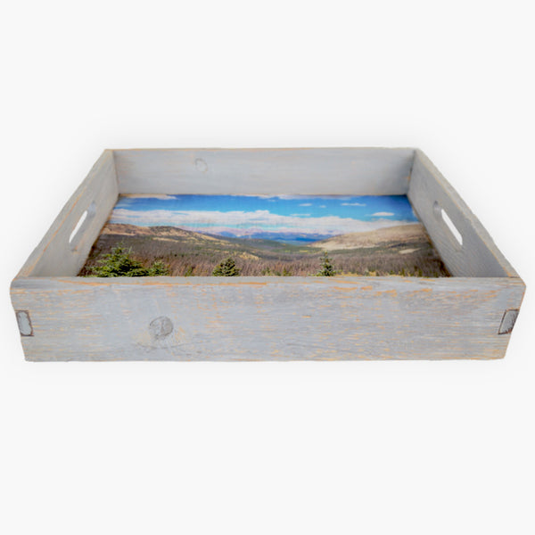 Valley Bound Serving Tray