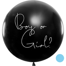 Lade das Bild in den Galerie-Viewer, Vorschau: 1 Riesenballon - Ø 1m - Boy or Girl - Blau