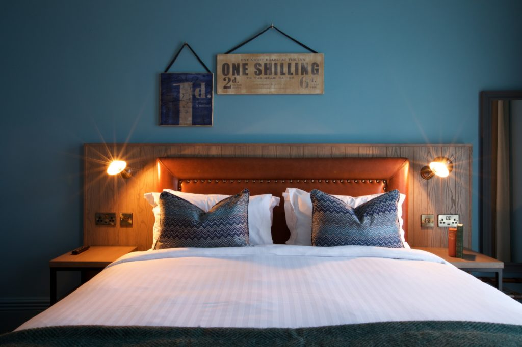 Accessible bedroom at The White Horse